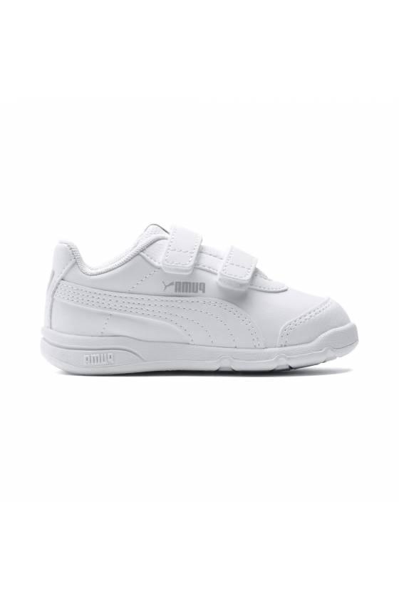 Zapatillas Puma Stepfleex 2 SL VE V In White - baby - Msdsport-masdeporte