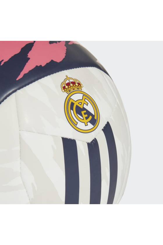 Balón de futbol del Real Madrid white/pink - Msdsport by Masdeporte