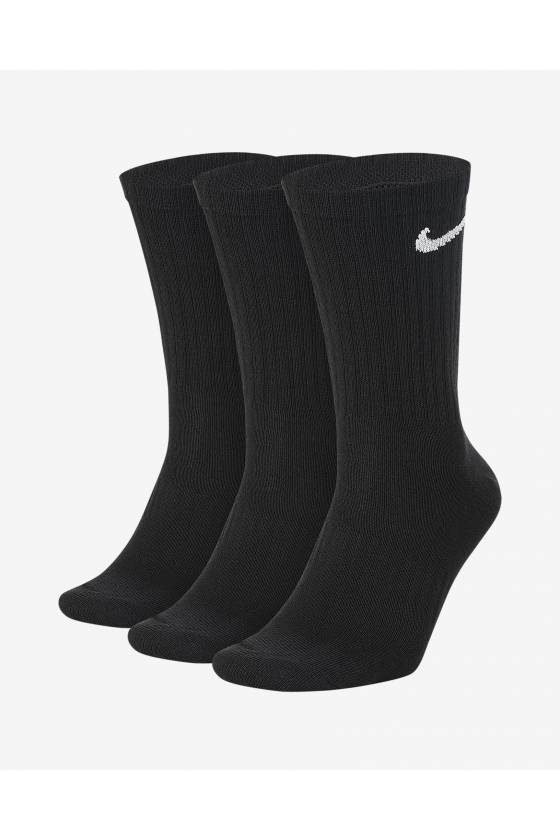 Calcetines largos de entrenamiento Nike Everyday Lightweight (3 pares) - Msdsport by Masdeporte