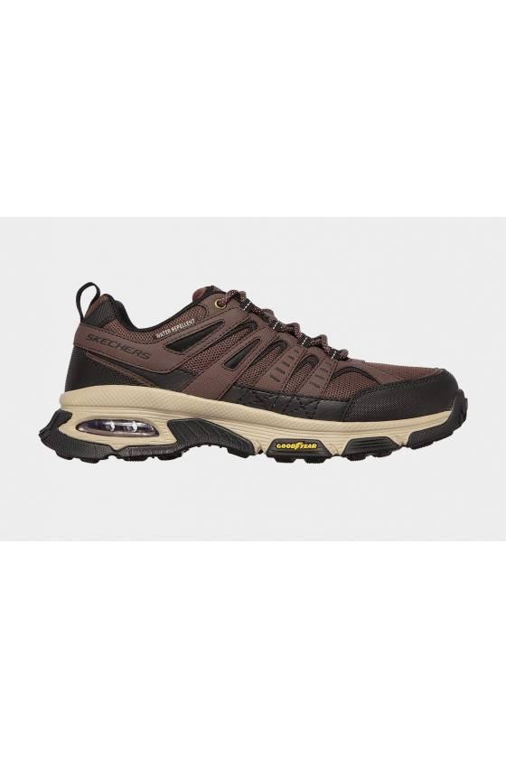 Zapatillas Skechers para hombre Goodyear air enjoy marrones