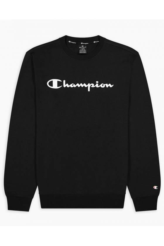 Sudadera con capucha Champion Crewneck Sweatshirt negra