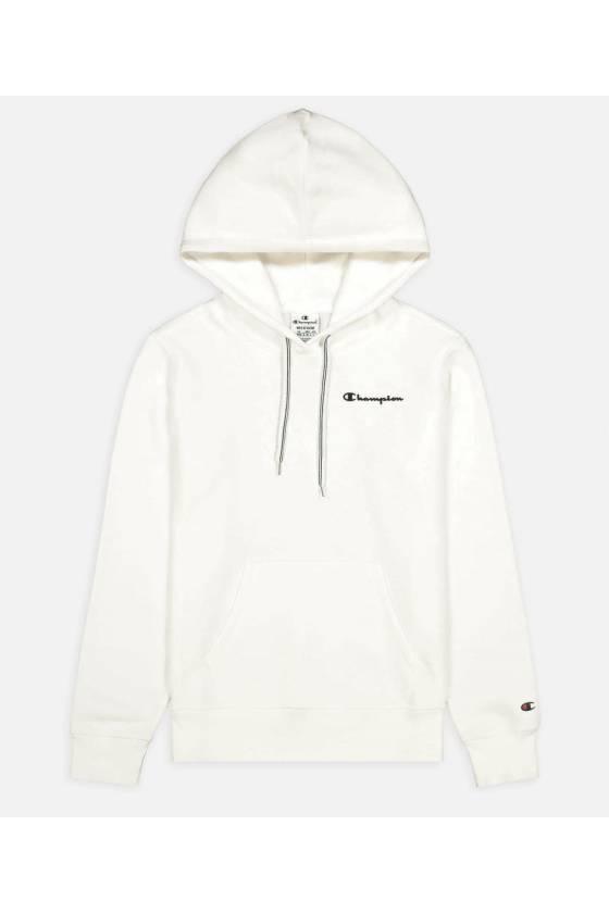 Sudadera Champion Legacy - Hooded Sweatshirt  - White - 114416-WW001- Msdsport by Masdeporte
