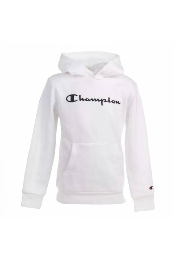 Sudadera Champion con capucha para niños 305358-WW001 - msdsport