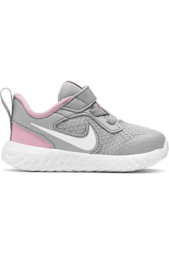 Zapatillas para Bebé Nike Revolution 5 BQ5673-021 - msdsport