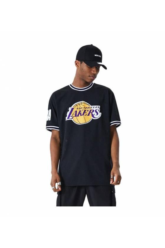 Camiseta New Era para hombre NBA Lakers 12485673 - msdsport