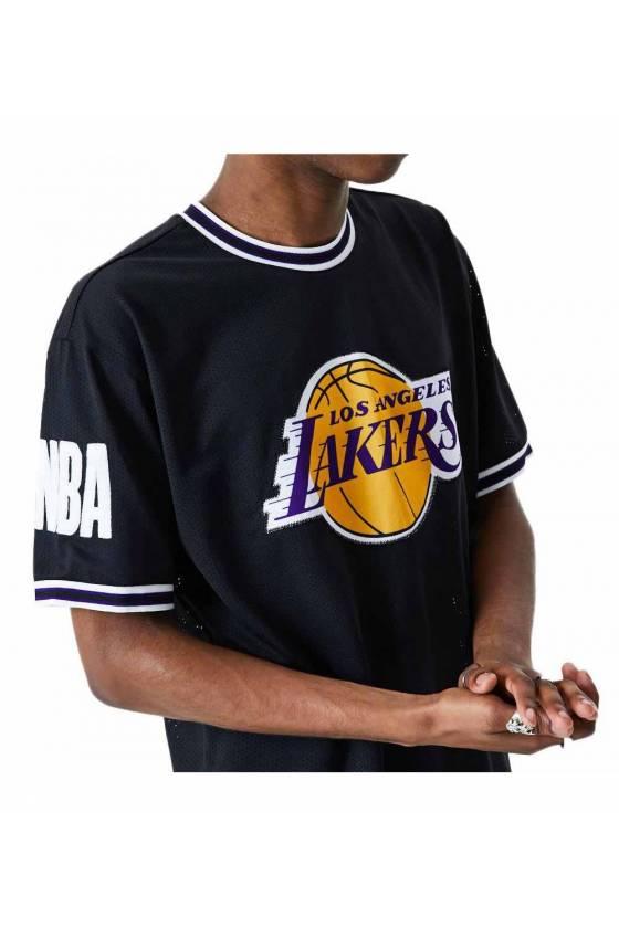 Camiseta New Era para hombre NBA Lakers
