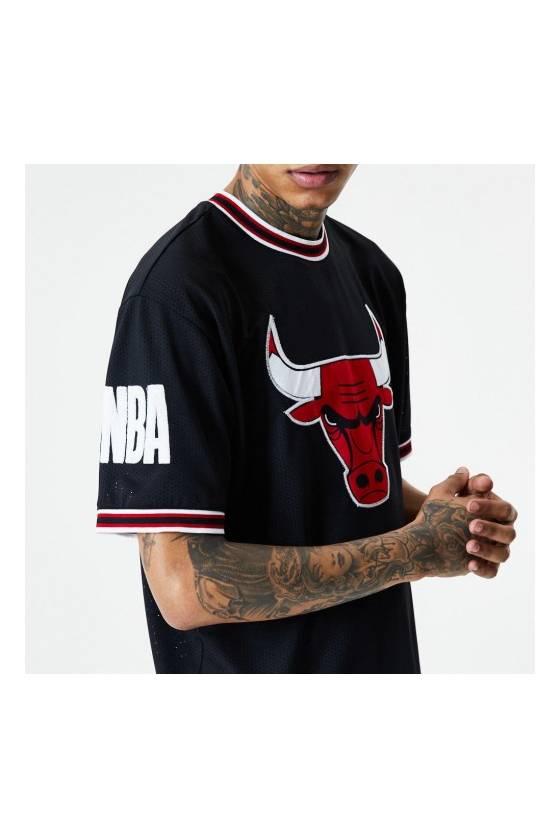 Camiseta New Era para hombre NBA Chicago Bulls