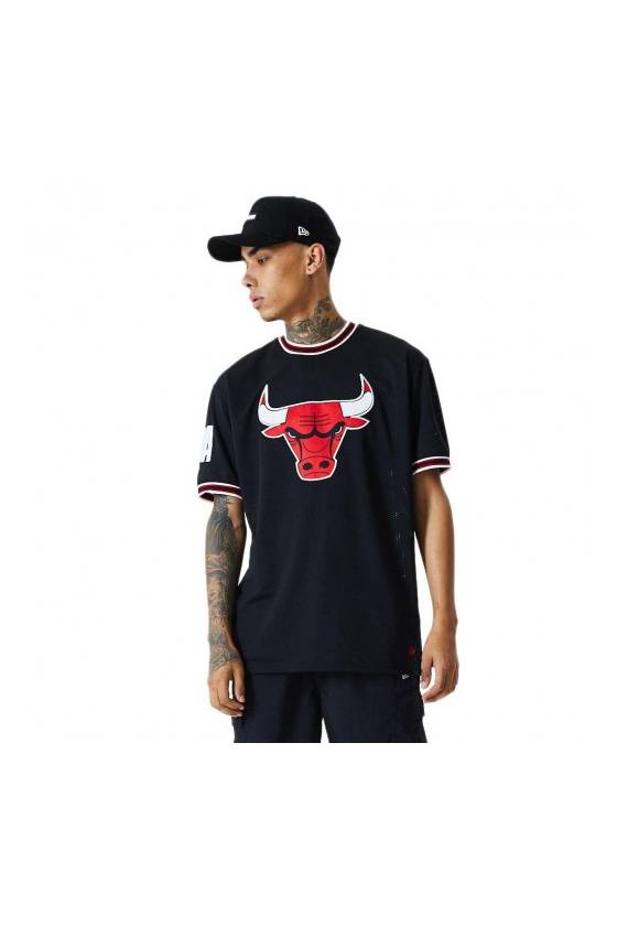 Camiseta New Era para hombre NBA Chicago Bulls 12485674 - msdsport