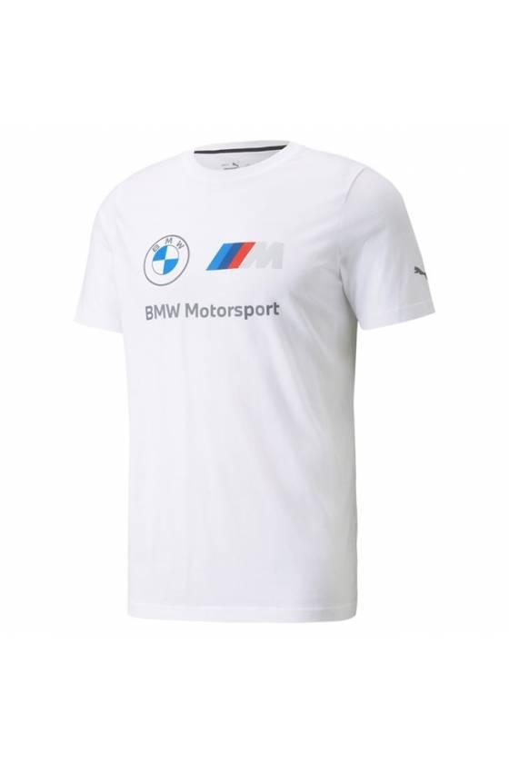 Camiseta Puma BMW MMS ESS Logo para hombre 53225302 - msdsport