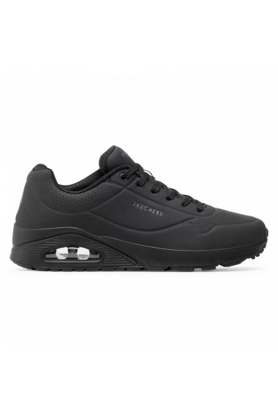 Zapatillas Skechers para hombre UNO - STAND ON AIR 52458-BBK - msdsport