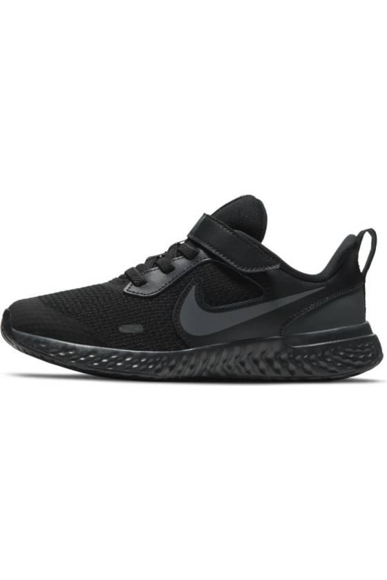 Nike Revolution 5 BLACK/BLAC FA2021