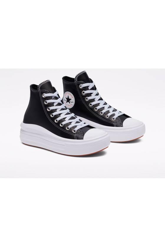 Zapatillas Converse Leather Chuck Taylor All Star Move High de mujer