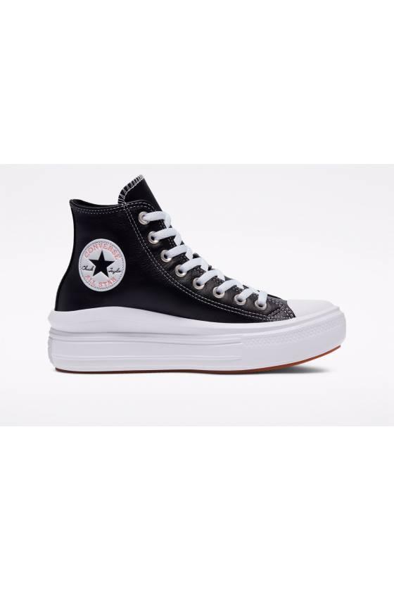 Zapatillas Converse Leather Chuck Taylor All Star Move High 572278C - msdsport